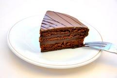 De verleiding van de chocolade Stock Fotografie