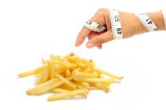 De verleiding van het dieet Royalty-vrije Stock Fotografie
