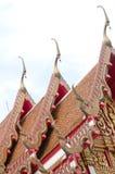 De verlengde en uitvoerig Boeddhistische tempel Royalty-vrije Stock Fotografie