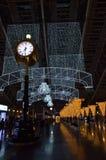 De verlichte stad van Osaka, de post van Osaka, Japan Royalty-vrije Stock Foto