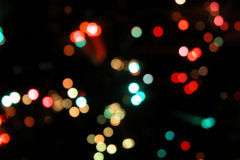 De Verlichting van Blured Royalty-vrije Stock Fotografie