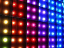 De verlichting van de disco Royalty-vrije Stock Foto's