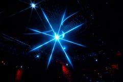 De verlichting van de disco stock afbeelding