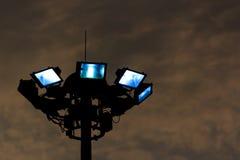 De verlichting van de straat Stock Foto's