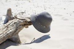 De verloren hoed van de dame Royalty-vrije Stock Afbeelding