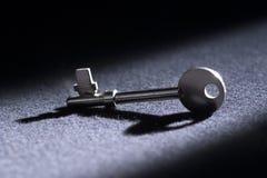 De verloren sleutel Royalty-vrije Stock Afbeeldingen