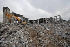 De vernieling van de bouw Stock Fotografie