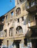 De vernietigde bouw Stock Afbeelding