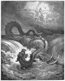 De vernietiging van Leviathan royalty-vrije stock fotografie