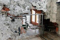 De vernieuwing van het loodgieterswerk Royalty-vrije Stock Afbeelding