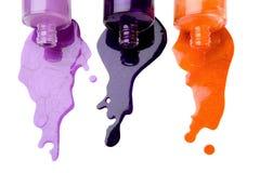 De vernis van de kleur Stock Foto's
