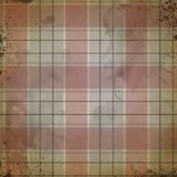 De verontruste Achtergrond van de Waterverfplaid - Rode Zwart en Grijs - Grungy Verontruste Textuur die - bewerken vector illustratie