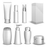 De verpakkende producten van de containersschoonheid Stock Foto