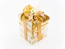 De verpakking van de gift stock afbeeldingen