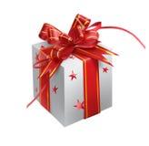 De verpakking van de gift Stock Foto's