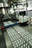 De verpakking van de tablet Stock Foto