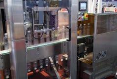 De verpakkingsmachine van de waterfles royalty-vrije stock foto