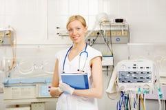 De verpleegster royalty-vrije stock afbeeldingen