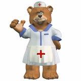 De verpleegster draagt Stock Foto's