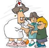 De Verpleegster van de school vector illustratie
