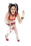 De Verpleegster van Goth stock afbeelding