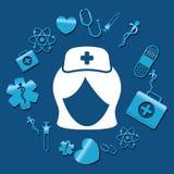 De verpleegsters medische dienst Royalty-vrije Stock Afbeelding