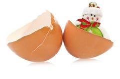 De verrassing van het ei Stock Afbeelding
