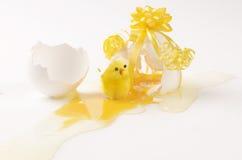 De verrassing van het ei Stock Foto
