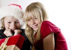 De Verrassing van Kerstmis! Royalty-vrije Stock Foto