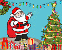 De verrassingenillustratie van Kerstmis royalty-vrije stock foto