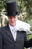 De verraste bruidegom Royalty-vrije Stock Fotografie