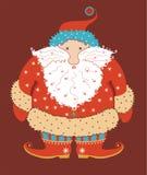 De verraste Kerstman Royalty-vrije Stock Foto's