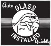 De verre automatique installé illustration de vecteur