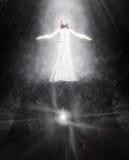 De verrijzenis van de illustratie van Jesus vector illustratie