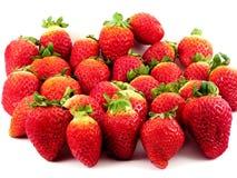 De Verrukking van aardbeien Royalty-vrije Stock Afbeeldingen