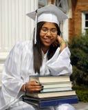 De Verrukking van de graduatie Stock Foto