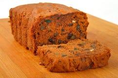 De vers gebakken Cake van de Pruim Stock Foto