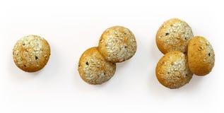 De vers gebakken reeks van het olijvenbrood Royalty-vrije Stock Afbeelding