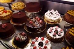 De verscheidenheid van cakes Royalty-vrije Stock Foto's
