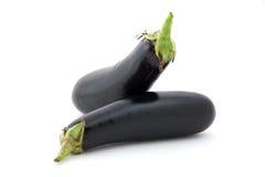 De verscheidenheid van de aubergine stock fotografie