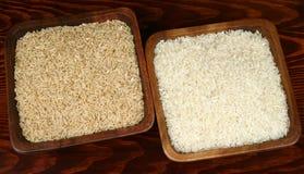 De verscheidenheid van de rijst Stock Afbeeldingen