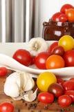De verscheidenheid van de tomaat Stock Foto