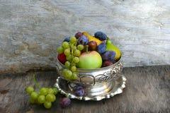 De verscheidenheid van het de zomerfruit Stock Foto's