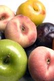 De verscheidenheid van het fruit Stock Afbeelding