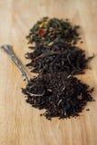 De verscheidenheid van thee Stock Foto