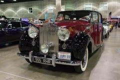 De Verschijning van Rolls Royce Zilveren het Reizen Limousine Hooper Royalty-vrije Stock Afbeeldingen