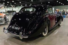 De Verschijning van Rolls Royce Zilveren het Reizen Limousine Hooper Stock Afbeeldingen