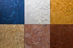 De verschillende achtergrond van de kleurenvloer Royalty-vrije Stock Fotografie