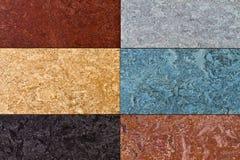 De verschillende achtergrond van de kleurenvloer. Royalty-vrije Stock Foto