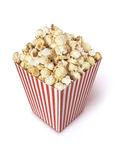 De verschillende hoek van de filmpopcorn verticle Stock Afbeelding